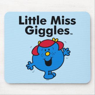 Tapis De Souris Petite petite Mlle Giggles Likes To Laugh de la