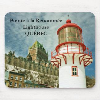 Tapis De Souris Phare de Renommée de La d'à de Pointe, Québec