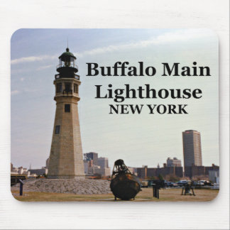 Tapis De Souris Phare principal de Buffalo, New York Mousepad