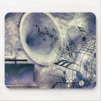 Tapis De Souris Phonographe vintage