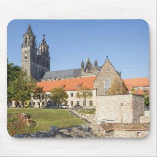 Tapis De Souris Photo de cathédrale de Magdebourg