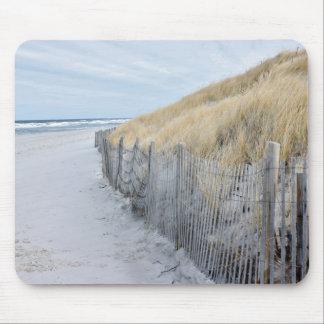 Tapis De Souris Photo hors-saison de plage