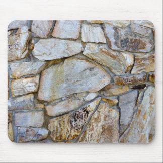 Tapis De Souris Photo Mousepad de texture de mur de roche
