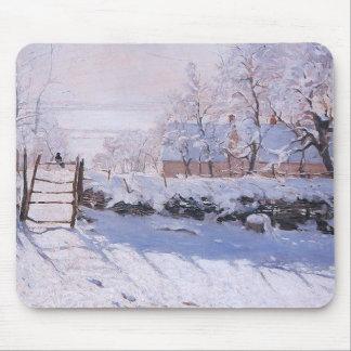 Tapis De Souris Pie de Claude Monet-The