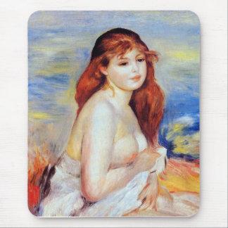 Tapis De Souris Pierre Auguste Renoir - baigneur