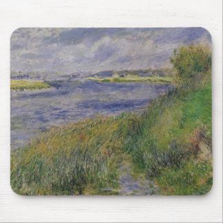 Tapis De Souris Pierre banques de Renoir un   de la Seine,