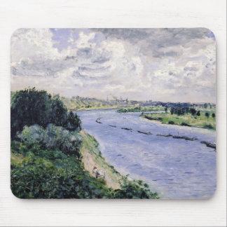Tapis De Souris Pierre péniches de Renoir un   sur la Seine