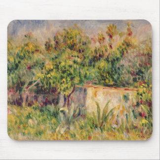 Tapis De Souris Pierre un cabine de Renoir   dans une clairière