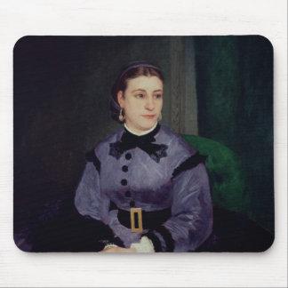 Tapis De Souris Pierre un portrait de Renoir   de Mademoiselle