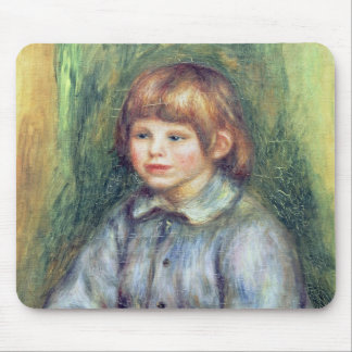 Tapis De Souris Pierre un portrait posé par   de Renoir de Claude