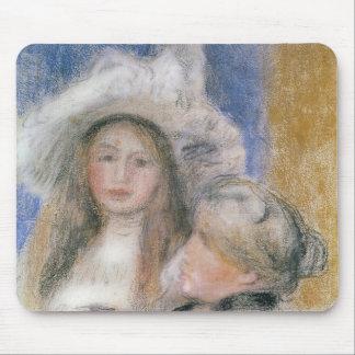 Tapis De Souris Pierre un Renoir   Berthe Morisot et sa fille