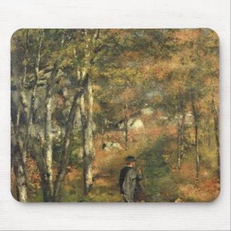 Tapis De Souris Pierre un Renoir   Jules Le Coeur dans la forêt