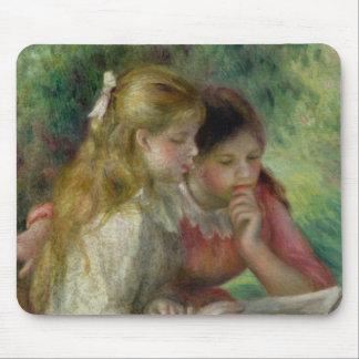 Tapis De Souris Pierre un Renoir   la lecture