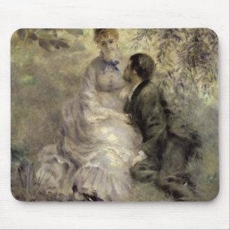 Tapis De Souris Pierre un Renoir   les amants