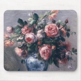 Tapis De Souris Pierre un vase à Renoir   de roses