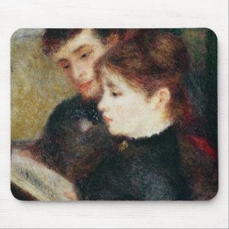 Tapis De Souris Pierre une lecture de couples de Renoir |