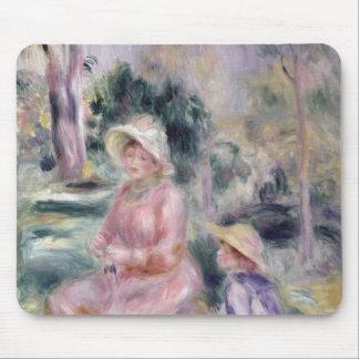 Tapis De Souris Pierre une Madame Renoir et son fils Pierre de