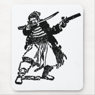 Tapis De Souris Pirate armé