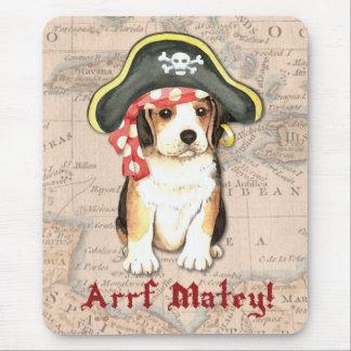 Tapis De Souris Pirate de beagle