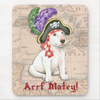 Tapis De Souris Pirate de bull-terrier