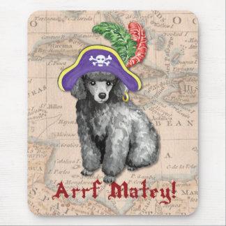 Tapis De Souris Pirate de caniche miniature