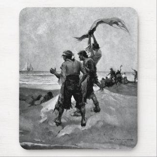 Tapis De Souris Pirates échoués