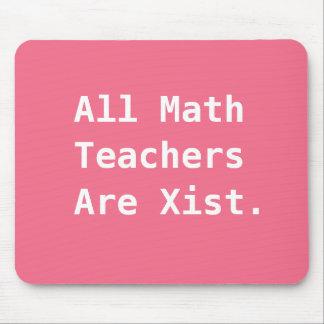 Tapis De Souris Plaisanterie sexiste drôle de calembour de maths