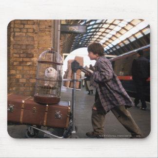 Tapis De Souris PLATE-FORME 9 3/4™ de Harry et de Hedwig