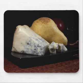 Tapis De Souris Poire et fromage bleu