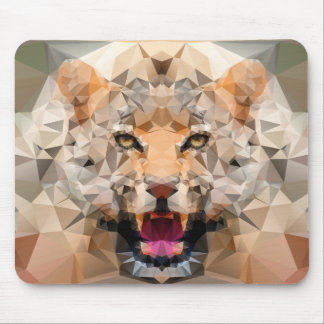 Tapis De Souris Poly art impressionnant de Jaguar