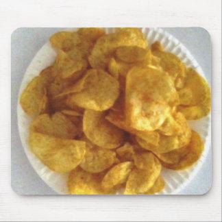 Tapis De Souris Pommes chips Mousepad