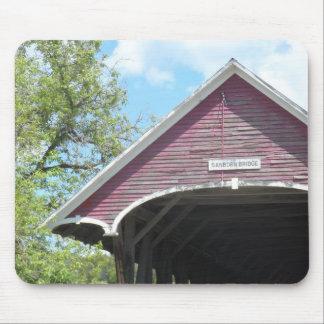 Tapis De Souris Pont couvert Vermont de Sanborn