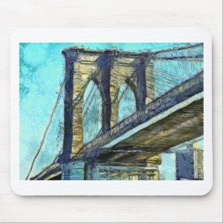 Tapis De Souris Pont de Brooklyn