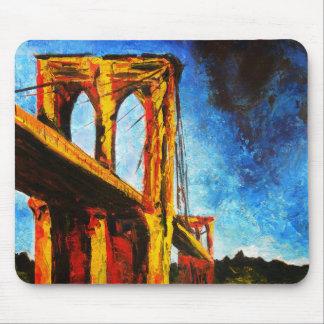 Tapis De Souris Pont de Brooklyn à Utopie 2009