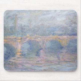 Tapis De Souris Pont de Claude Monet   Waterloo, Londres, au