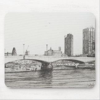 Tapis De Souris Pont Londres de Waterloo. 31/10/2006