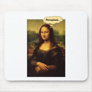 Tapis De Souris Porcs-épics de Mona Lisa