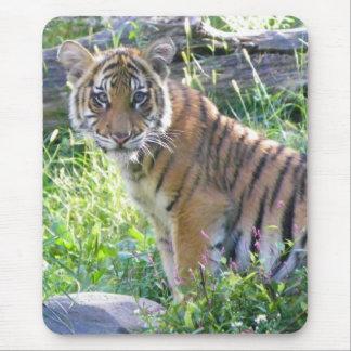 Tapis De Souris Portrait 2 de CUB de tigre