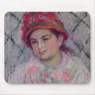 Tapis De Souris Portrait de Claude Monet   de Blanche Hoschede