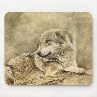 Tapis De Souris Pose du loup