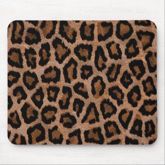 Tapis De Souris Poster de animal velu de léopard