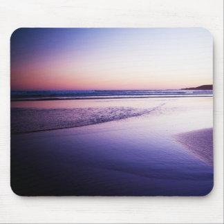 Tapis De Souris Pourpre profond de paysage de coucher du soleil