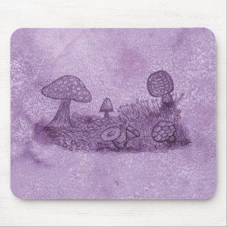Tapis De Souris Pré Mousepad de champignons
