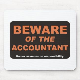 Tapis De Souris Prenez garde du comptable