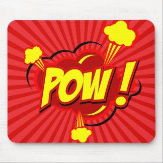 Tapis De Souris Prisonnier de guerre comique Mousepad de bulle