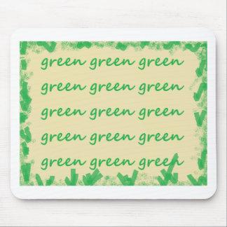 Tapis De Souris Produits verts