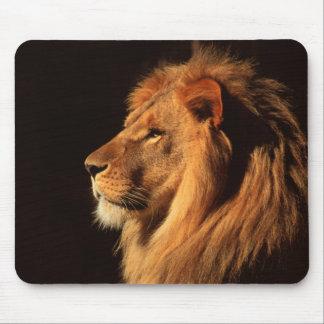 Tapis De Souris Profil masculin de lion - images de faune par