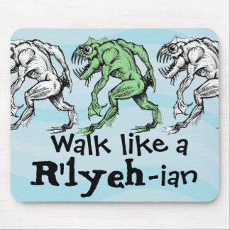 Tapis De Souris Profondément un - Promenade comme un R'lyeh-Ian -