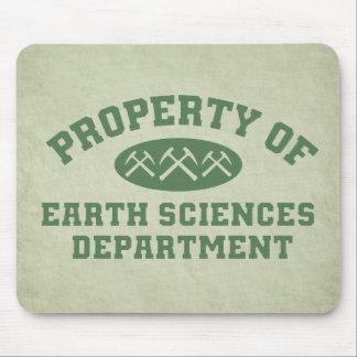 Tapis De Souris Propriété de département de sciences de la terre