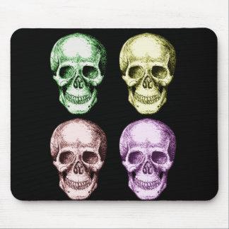 Tapis De Souris Quatre crânes humains
